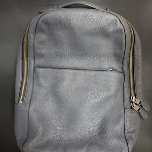 Coach metropolitan backpack navy dark blue